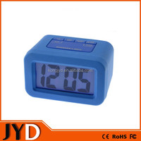 JYD- DAC06S New Cheap Silicone LED Desktop Alarm Clock, Can Be Customized For Promotional Gifts