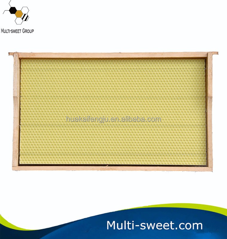 Langstroth Beehive Super Box Plastic wooden Bee Comb Frames