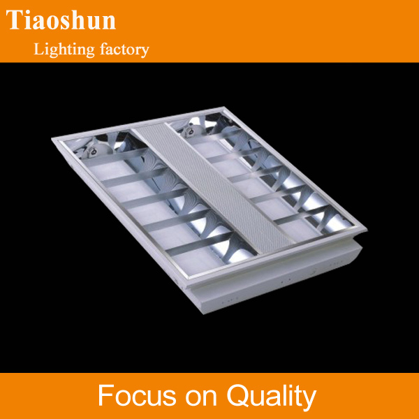 T8/T5 led grille mirrored reflective light panel