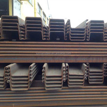 concrete larsen steel sheet pile sy295