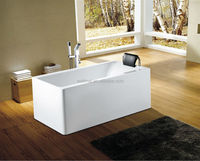 Small one piece acrylic free-standing bathtubs WTM-02515
