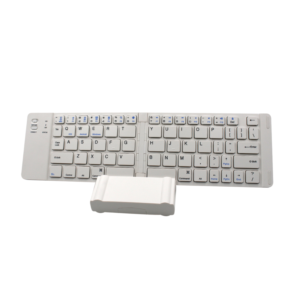 Ultra-slim Wireless folding Keyboard Bluetooth 3.0 For Apple