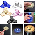 New Aluminum Alloy Finger Spinner Metal Anti Stress Hand spinner Finget Reliever Fun Toys For Children Autism Hand Spinners