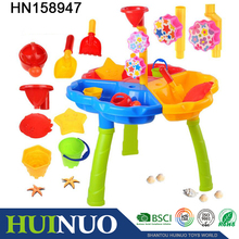 Children summer outdoor toys plastic sand and water table play set HN158947