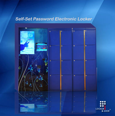 Pin/Password Operated Electronic Locker