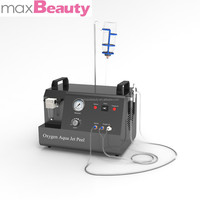 M-H6 2015 Multifunctional oxygen jet machine/ skin galvanic spa jet peel 3/lead concentrates