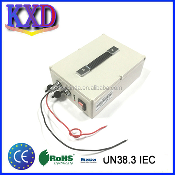 Battery pack rechargeable light weight 12v 100ah solar battery