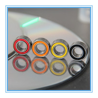 Ball bearing in different color seals 3x8x4mm 693-2RS