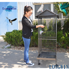 made in china hot sale steel mesh cage for parrot bird pet product low price