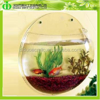 Ddt 0006 Distribute Round Acrylic Aquarium In Medium Size