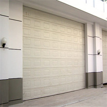 Finger Protected Single or Double Track PU Foam Panel Sectional Garage Door