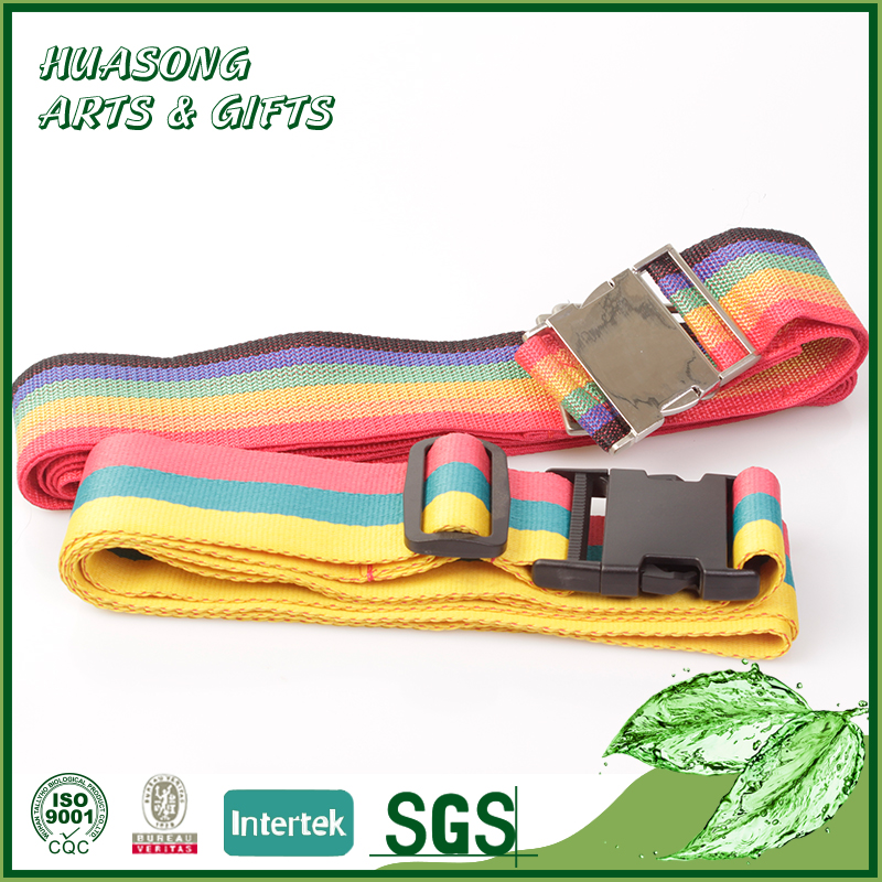 Personalized colorful business travel luggage strap