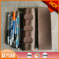 Fancy Silicone Rubber Pencil Case Bag