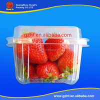 Wholesale High Temperature Resistant Food blister container Plastic PET Tray