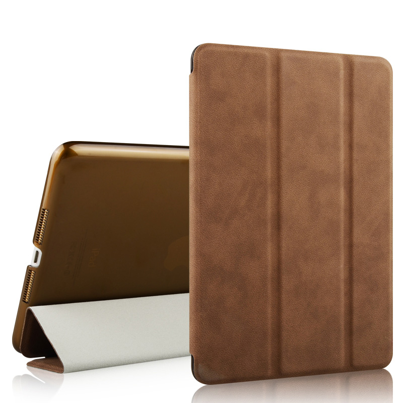 Universal Smart 8-inch Ultra slim Deerskin Texture wateproof pu leather Portable tablet case for ipad mini123 case