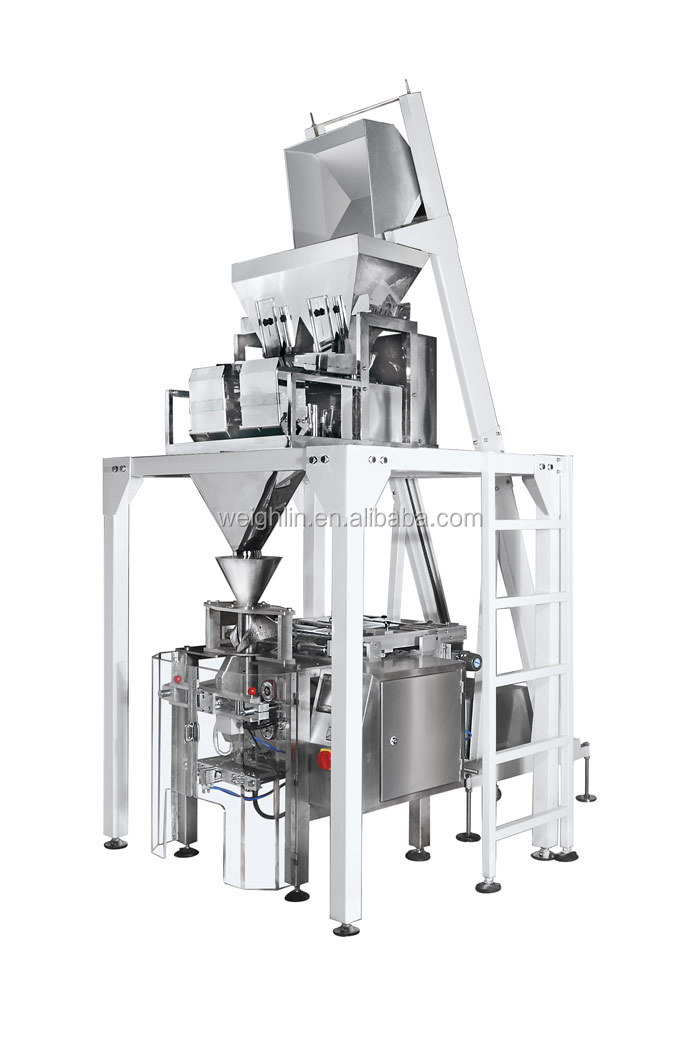 Automatic Cup Weigh Fill Load Pack Line