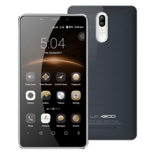 White LEAGOO M8 Pro Phone Dual Rear Cameras with 5.7 Inch Screen and Fingerprint