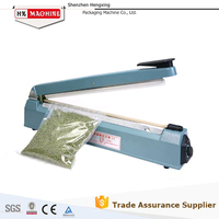 Cheap price high quality 300 seriers metal impulse plastic pouch hand sealer