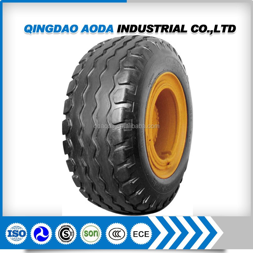 Farm tractor implement tire 10.0/80-12