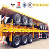 40ft Container 3 Axle Flatbed Semi