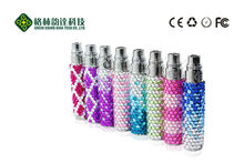 newest fashionable design colorful ego Luxury Crystal battery ego tech e cigarette