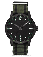 High quality day function nylon strap custom logo military watches