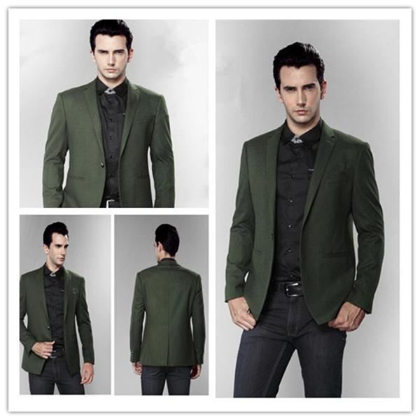 2013 winter latest fashionable casual dress for men