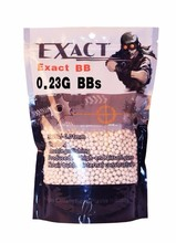 EX-.23 g softgun bb for 6mm gun pellets