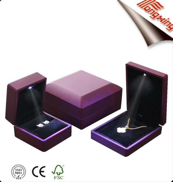 Diomand good choice painting led light jewelry box