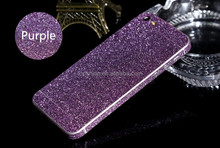 Bling bling diamond glitter sticker skin cover full body sticker decal for iPhone 5 5s