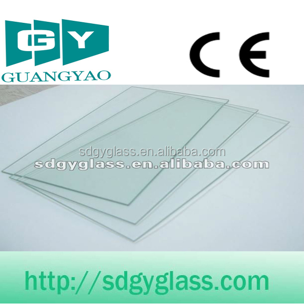 CE & ISO Certified High Quality: clear mirror glass