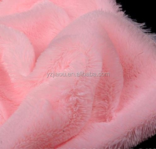 pv plush fabric, Polyester Plush fabric material, for making soft fur plush toys