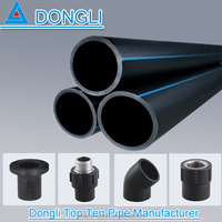 Hot sale factory price HDPE industrial and residential water supply pipe