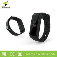 Wireless Optical Heart Rate Monitor BLE4.0 Wristband Activity Tracker Fit Bit Pedometer Sports Smart Watch