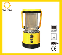 Solar LED Emergency Lights / Rechargebale camping lantern / storage bottle for emergency