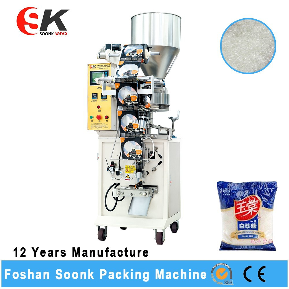 Nitrogen Pouch Popcorn Packing Machine