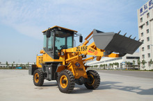 New product ZL15F China mini wheel loader with ce same quality as bobcat for sale low prices
