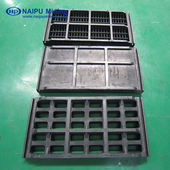 NSH series vibrating screen mesh/plate and panel for mines