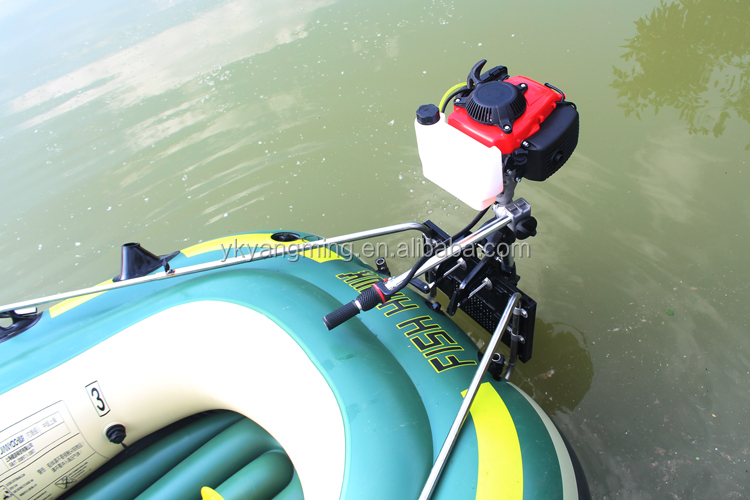 Inflatable Boat gasoline trolling motor for boat