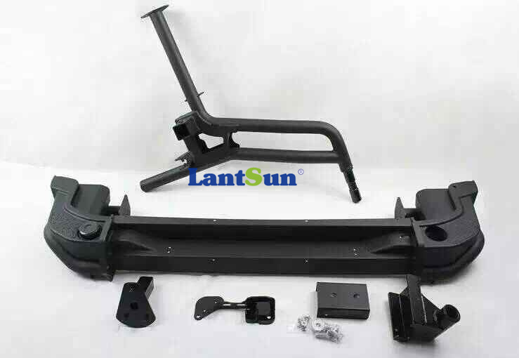 07-on Jeep Wrangler JK AEV Style Rear Bumper with Tire Carrier