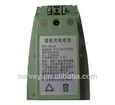 China 2014 South total station NI-MH rechargeable battery sb-25 batteries for sale, GPS, surveying, total station
