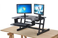 Hot selling height adjustable modern office standing desk sit stand desk