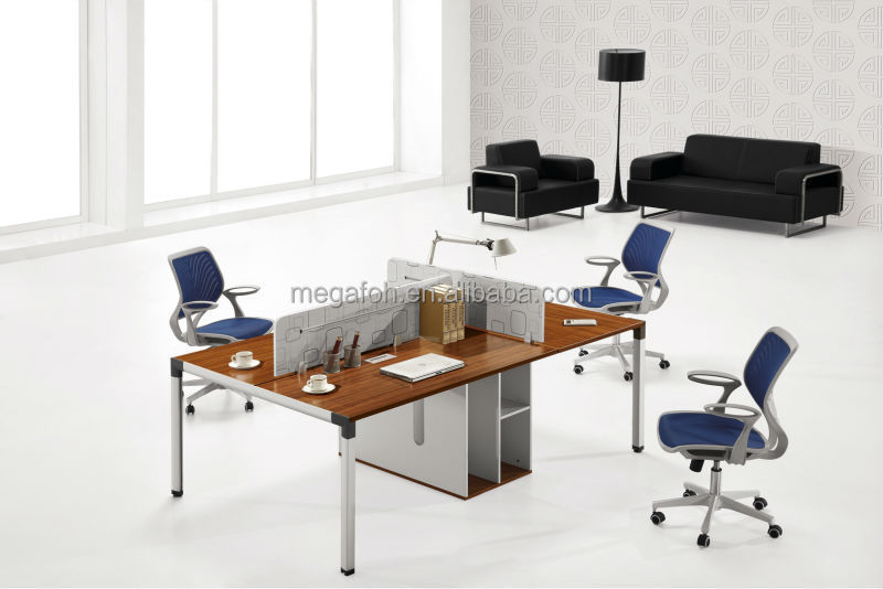 New arrival retangular office workstation/staff partition for three person(FOH-8C-01-03)