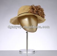 fashion store display hat and wigs mannequin head