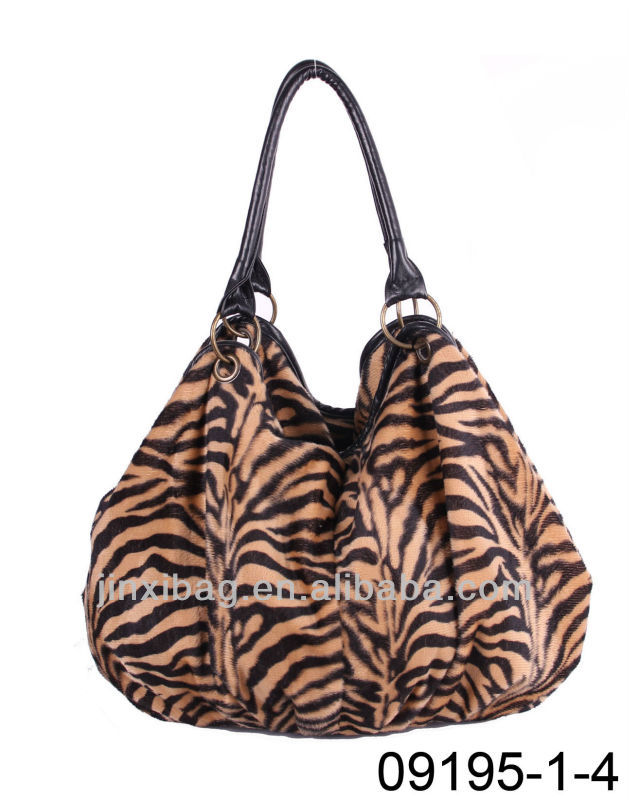 2013 Yiwu market latest animal printed handbags fashion
