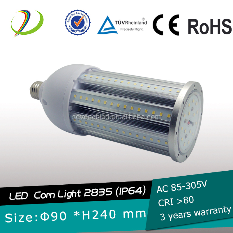 AC85-347V E40 80W LED street light 9800LM LED STREETLIGHT LED Bulb IP65 led corn lamp