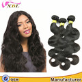full cuticle tangle and sheddling free virgin human hair body wave one donor raw hair