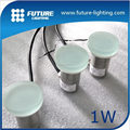 Shenzhen outdoor recessed ground lighting round glass shelf led tile light