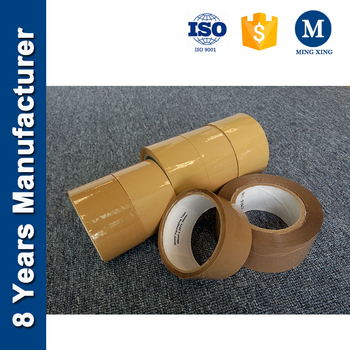 Tan/ Brown Packing Tape, Long Lasting Bopp Adhesive Tape