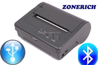 USB and Bluetooth interface wireless handheld mobile thermal printer AB-340M from Zonerich